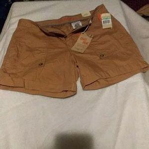 Dockers khaki diem shorts